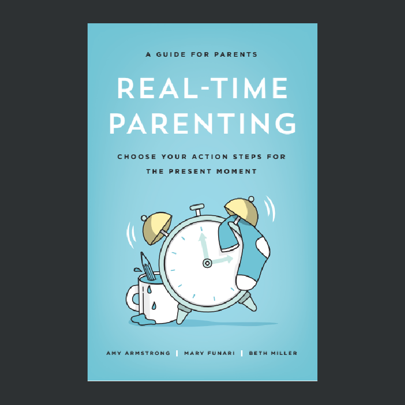 Image of Real-Time Parenting book cover.